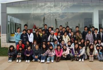 城市学院2008级专业基础课程展览作品