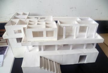 08级园林班模型制作作业