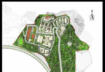 城市学院学生景观规划设计(实际案例)